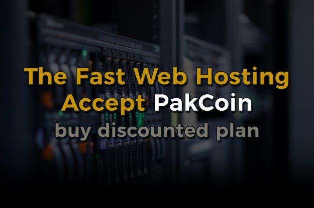 Pakistani Webhost accepts Pakcoin