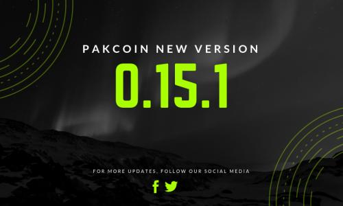 Pakcoin 0.15.1 Release